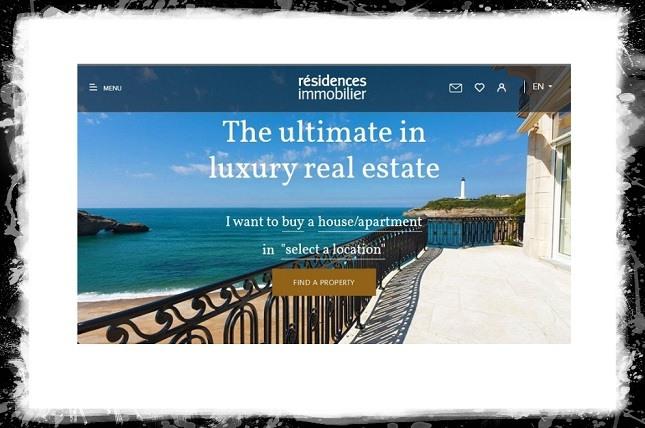 сайтов недвижимости примеры
