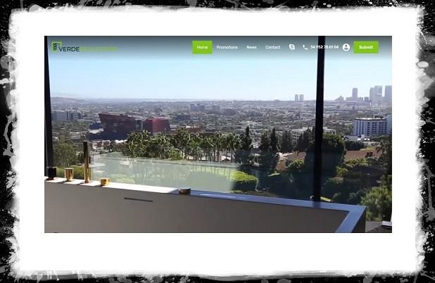 Verde Real State сайт недвижимости